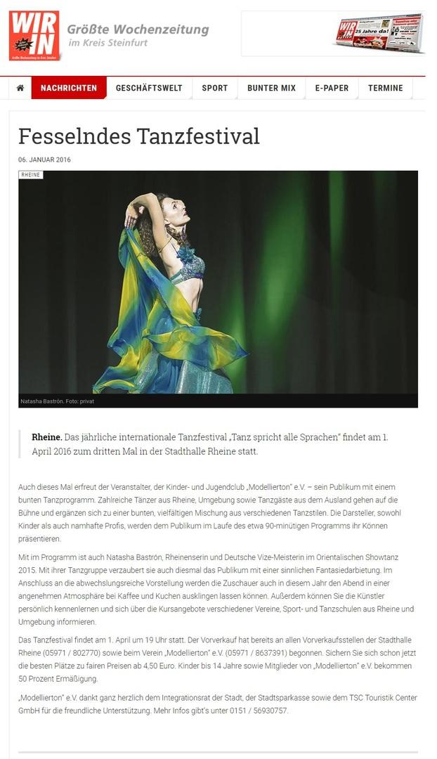 Organisation: Tanzschule Rheiner Tanz